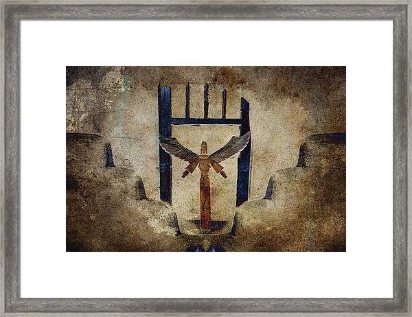 Santo Framed Print