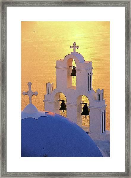 Santorini 05 Framed Print