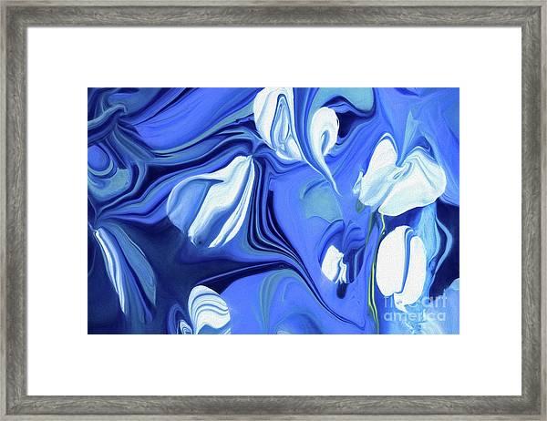 Sapphire Dreams Framed Print
