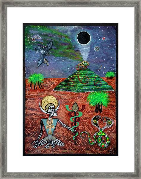 Saqqara Cooomplete Framed Print