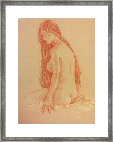 Sarah #2 Framed Print