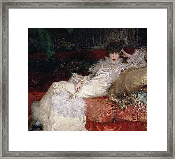 Sarah Bernhardt Framed Print