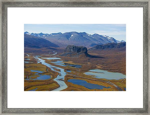 Sarek Nationalpark Framed Print