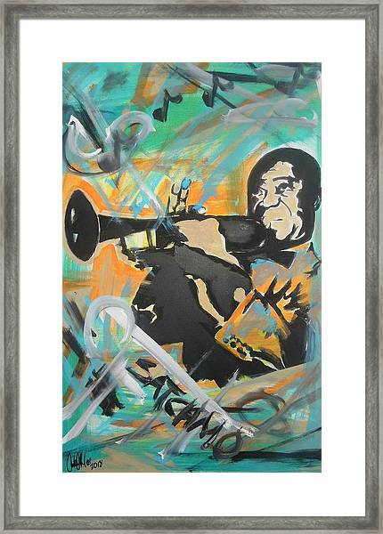 Satch Armstrong Framed Print