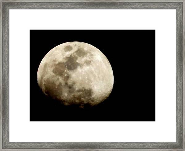 Satellite Serenade  Framed Print