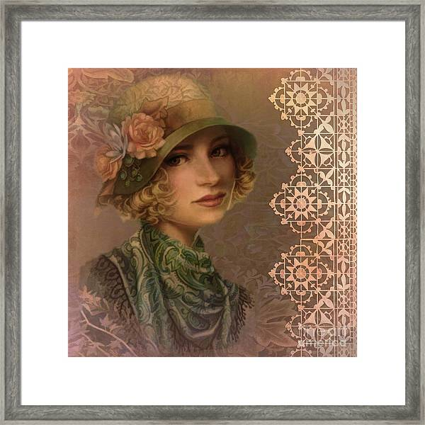 Satin And Lace 2016 Framed Print