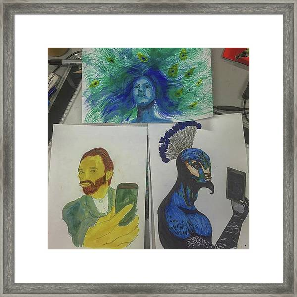 Saturday Art :3 Framed Print
