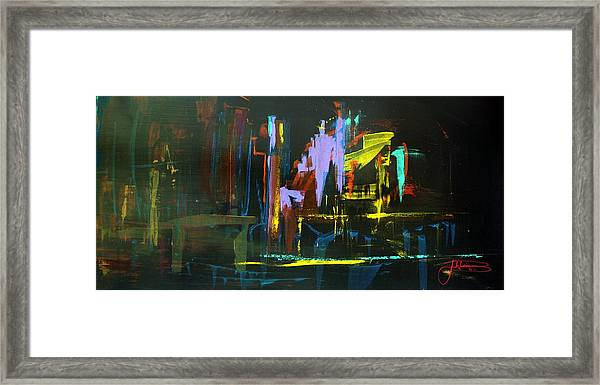 Saturday Night Framed Print