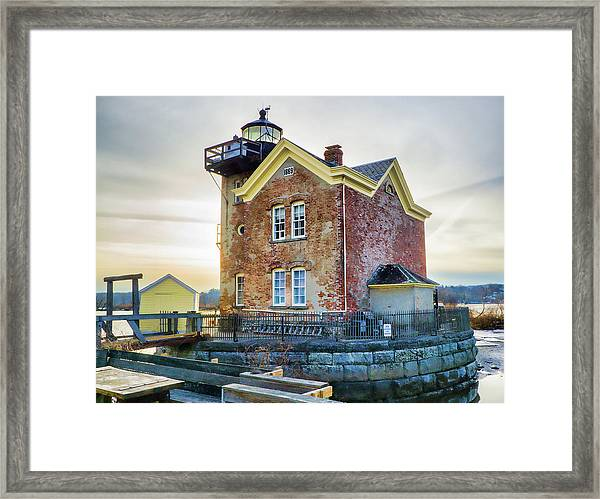 Saugerties Lighthouse Framed Print