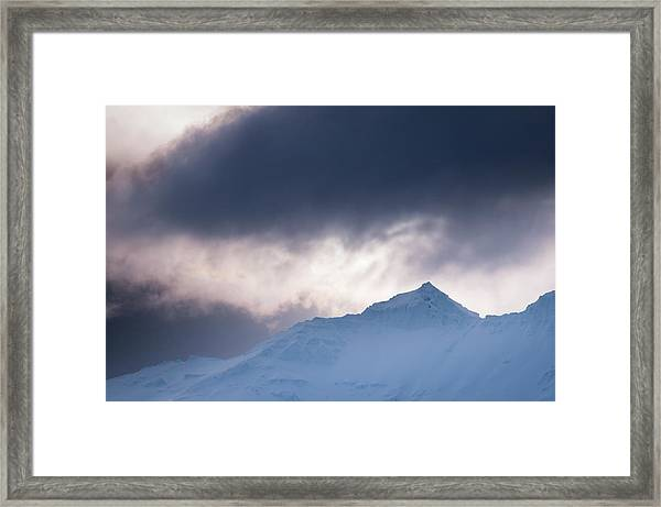 Savage Mountain Framed Print