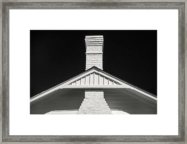 Savannah Chimney Framed Print