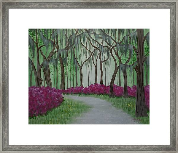 Savannah Spring Framed Print