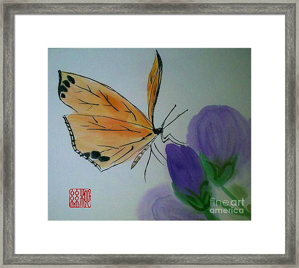 Save The Monarchs Framed Print