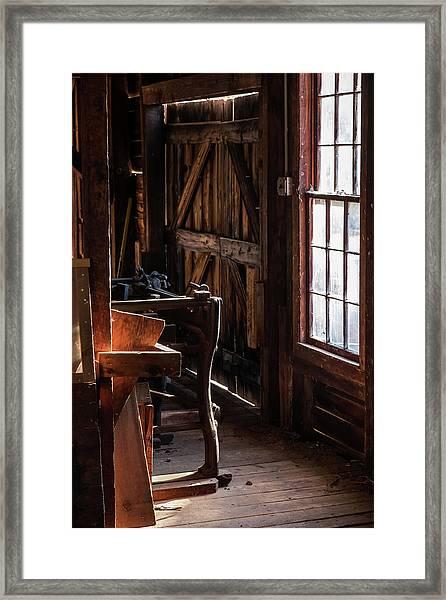 Batsto Saw Mill Framed Print