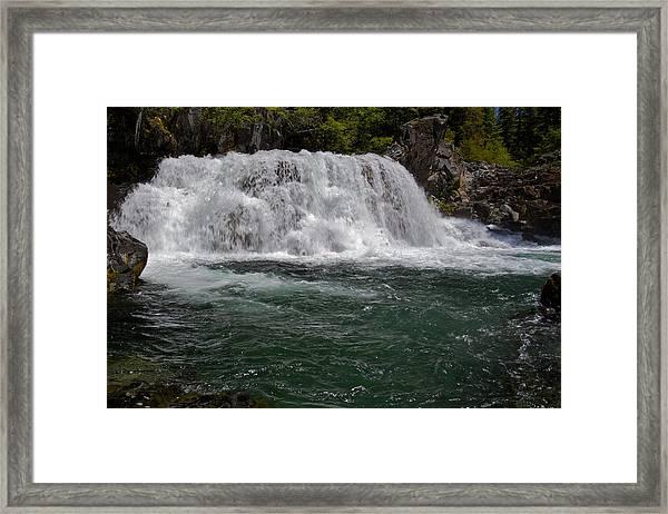 Sawmill Falls 2 Framed Print