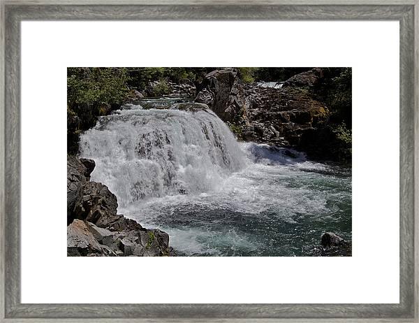 Sawmill Falls Framed Print