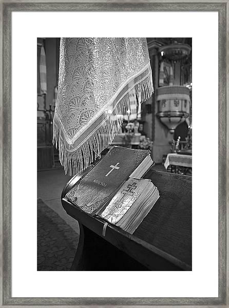 Say A Little Prayer Framed Print