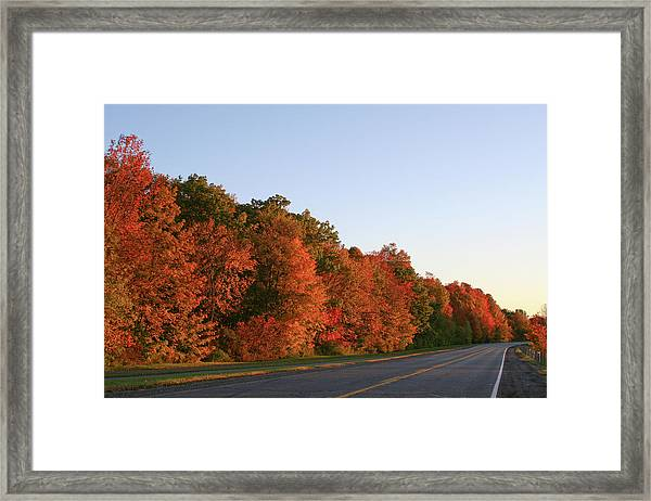 Scenic Route Framed Print