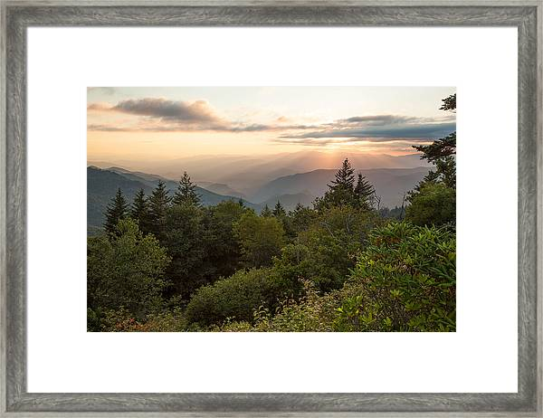 Scenic Smoky Mountains Framed Print
