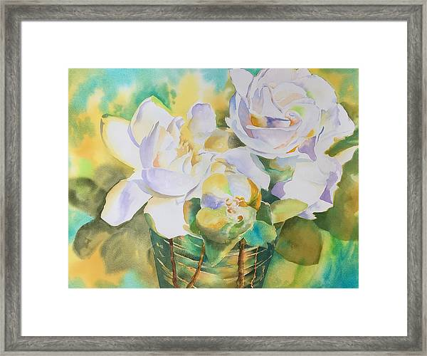 Scent Of Gardenias  Framed Print