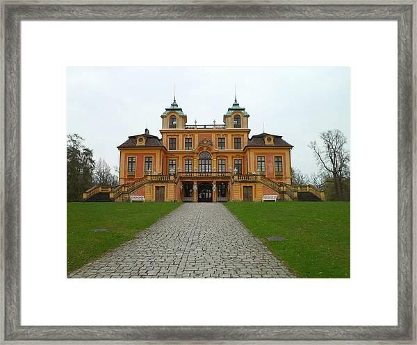 Schloss Favorite, Ludwigsburg, Stuttgart, Germany Framed Print