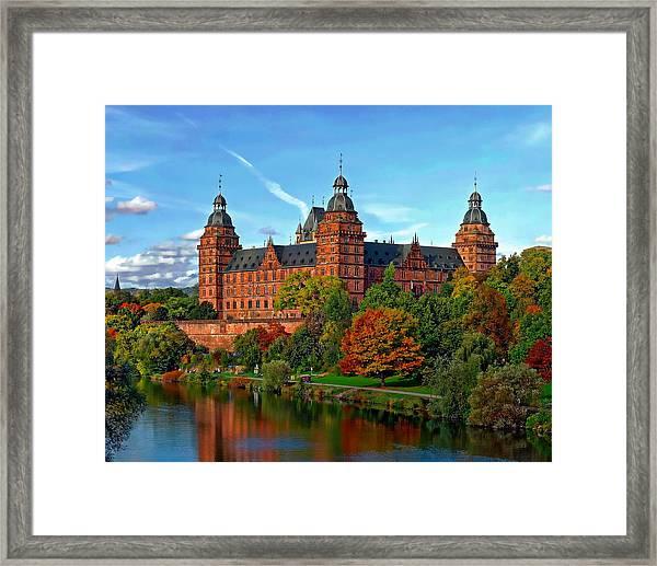 Schloss Johannisburg Framed Print
