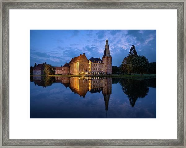 Schloss Raesfeld Framed Print
