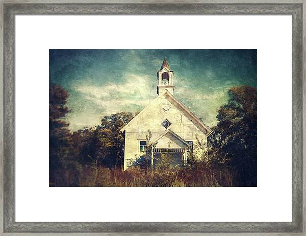 Schoolhouse 1895 Framed Print