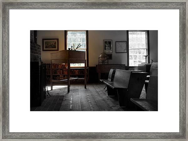 Schoolroom 1 Framed Print by Lois Lepisto