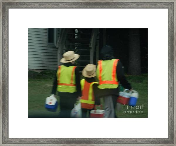 School's Out 2 Framed Print