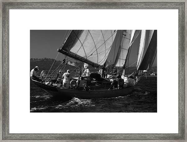 Schooner Dauntless Framed Print