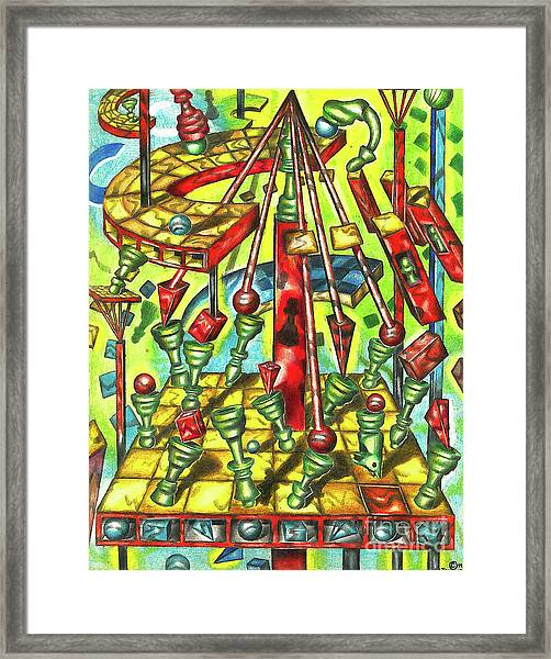 Science Of Chess Framed Print