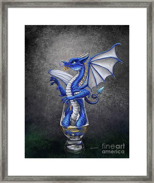 Scotch Dragon Framed Print