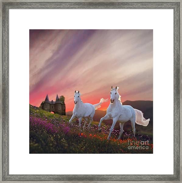 Scotland Fantasy Framed Print