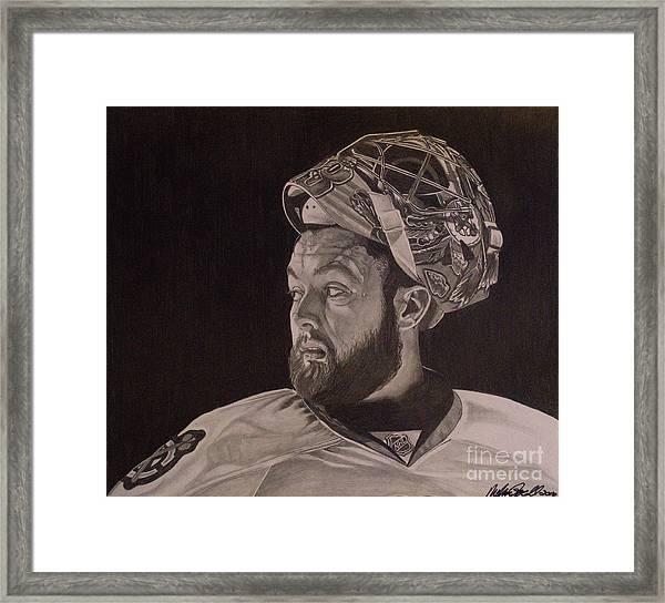 Scott Darling Portrait Framed Print