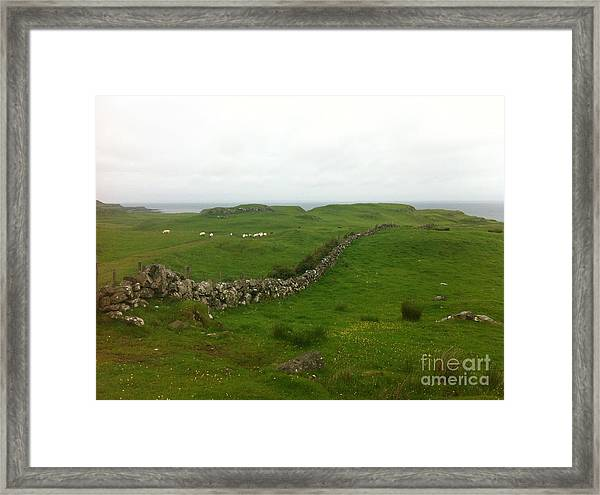 Scottish Wall Framed Print