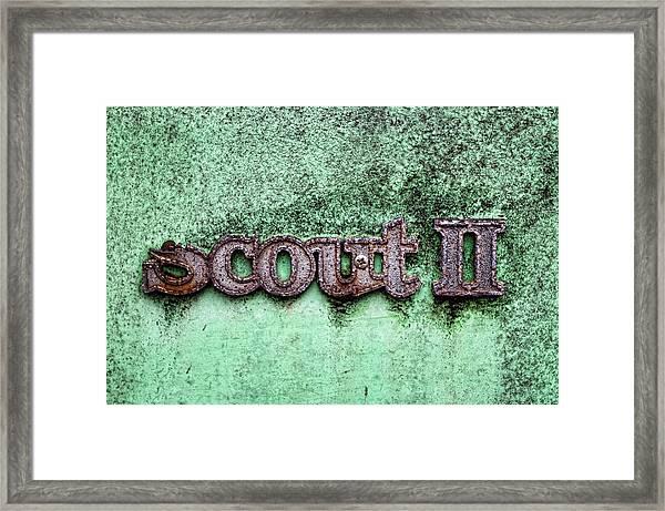 Scout II Framed Print