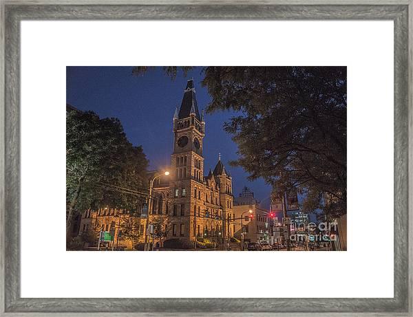 Scranton Pa City Hall Framed Print