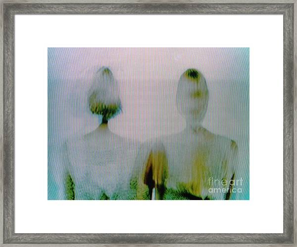 Screen #0526 Framed Print