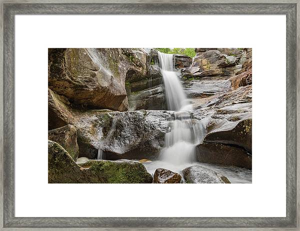 Screw Auger Falls I Framed Print