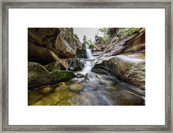 Screw Auger Falls II Framed Print