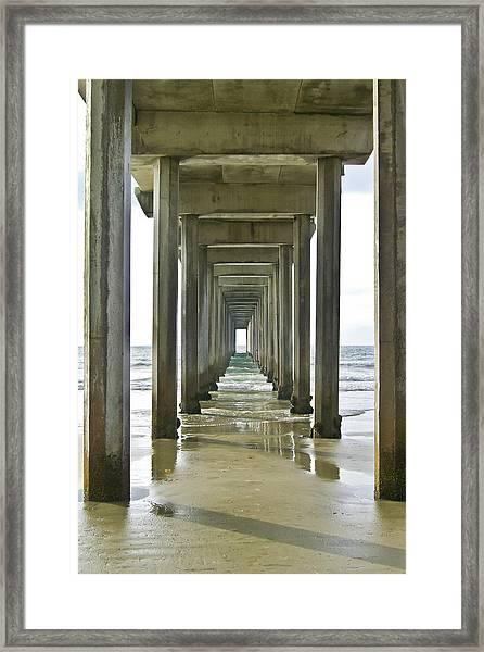 Scripps Pier La Jolla Framed Print