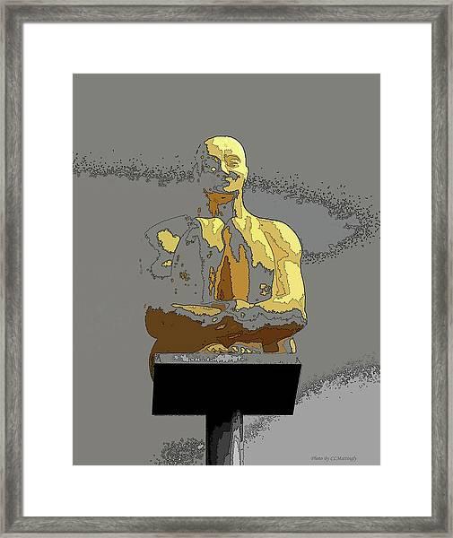 Sculpture In Nice Framed Print