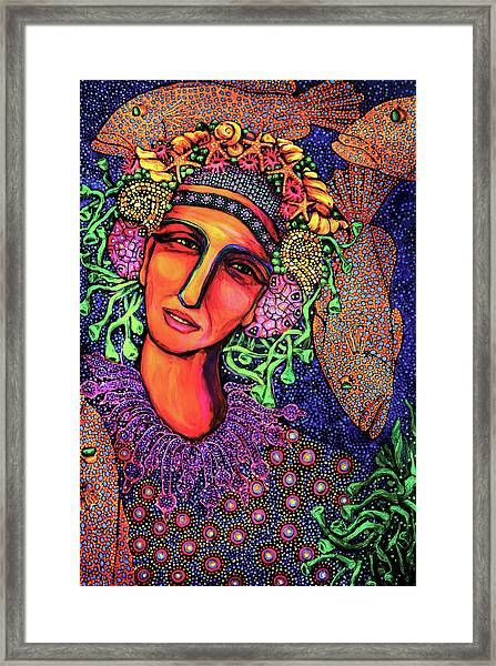 Sea Dreaming 3 Framed Print