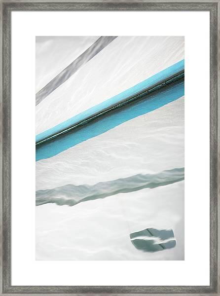 Sea Kissed Framed Print