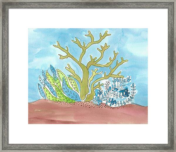 Sea Life I Framed Print