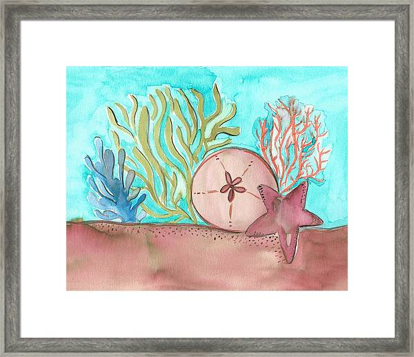 Sea Life II Framed Print