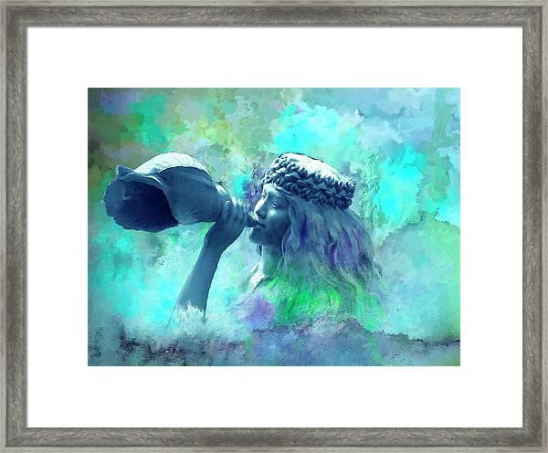 Sea Nymph Framed Print