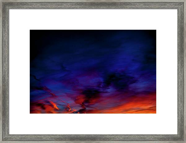 Sea Of Colors Framed Print