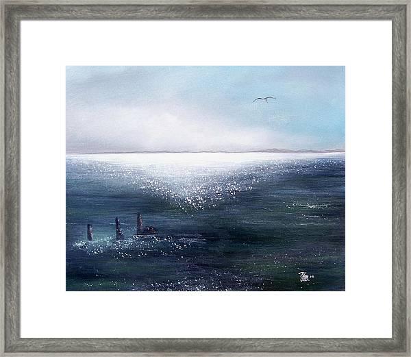 Sea Of  Glass Framed Print